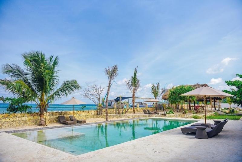 Rua Beach sur l'île de Sumba, hôtel de catégorie supérieure