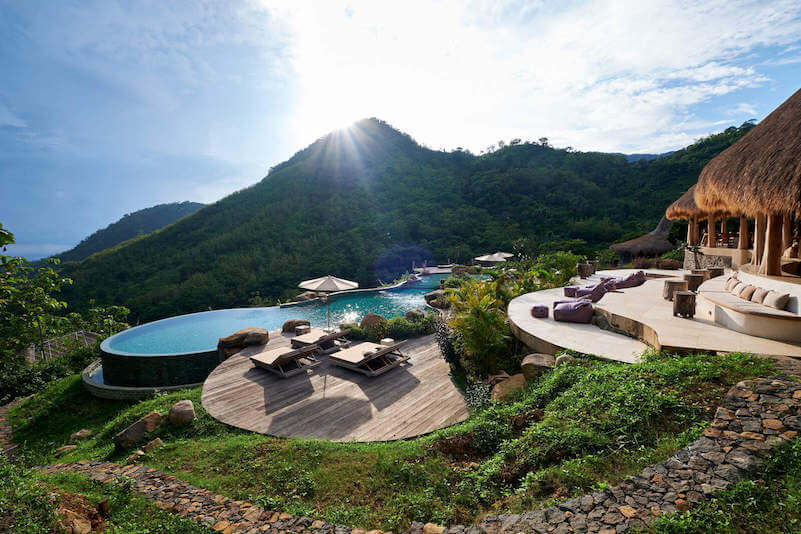 Bali hotel luxe Amed